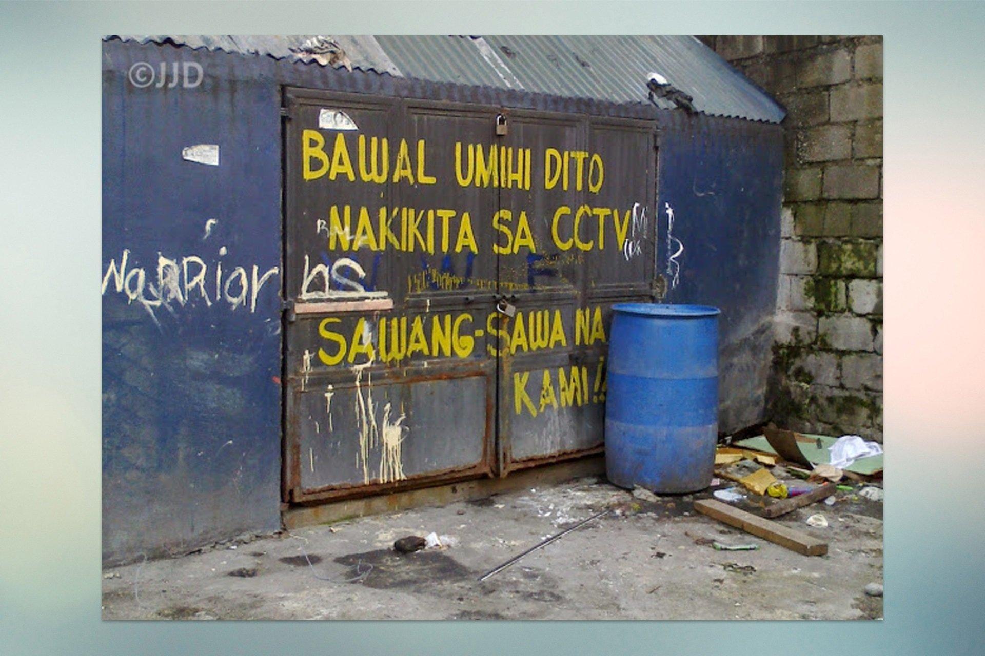 Funny Signages Bawal umihi